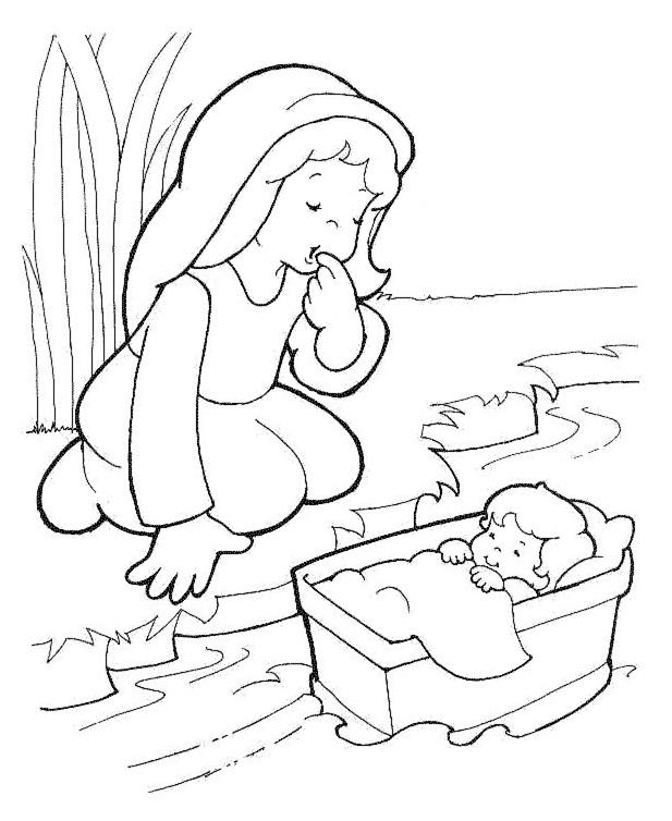 Moisés en la cesta